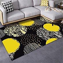 MMHJS Nordic Rectangular Printed Carpet Fashion