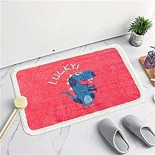 MMHJS Plush Round Comfortable Non-Slip Carpet Is