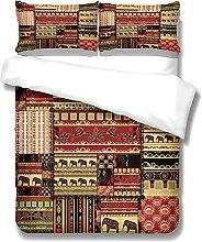 MMHJS Retro Duvet Cover, Home Bedroom Bedding, 3