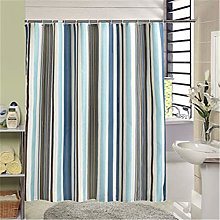 MMHJS Thickened polyester shower curtain