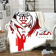 Mmjjshdp Blankets Gundam 3D Printed Throw Blanket