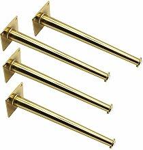 mmmy Metal Furniture Legs,Golden Bed Shoe Cabinet