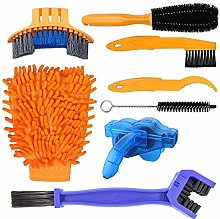 MMOBIEL Bike Cleaning Brush Set 8 Pieces Mountain