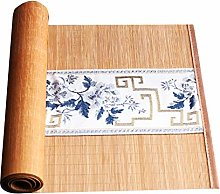MMQGQ Chinese Zen Bamboo Table Runner With