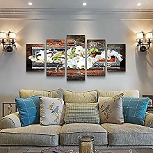 MMSY 5 Panel Wall Art Pictures Orchid picture