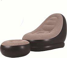 mnbvc Leisure fashion simple sofa chair Gray Lazy