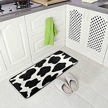 Mnsruu Animal Cow Print Area Rug Rugs Floor Mat