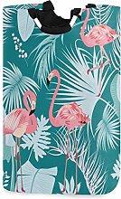 Mnsruu Flamingo Plants And Flowers Green Laundry