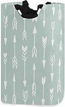 Mnsruu Mint Green Tribal Pattern Arrows Laundry