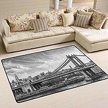 Mnsruu New York City Manhattan Skyscraper Bridge