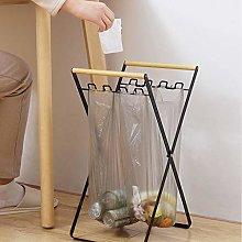 MO&SU Folding Bag Holder, Portable Trash Can