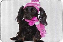 MOBEITI Anti-Slip Washable Soft Flannel Carpet,Dog