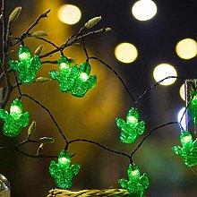 Mobestech 30 LED Solar String Lights Cactus Shape