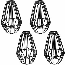 Mobestech Set of 4 Cage Ceiling Pendant Light