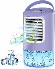 Mobile Air Conditioner Fan, 3 IN 1 Personal Space