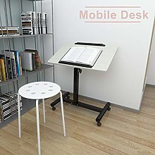 Mobile Desk Height Adjustable Laptop Table Movable
