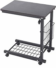 Mobile Lap Table Computer Desk Stand Desk Height