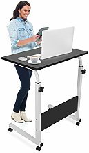 Mobile Lap Table Computer Desk Stand Height