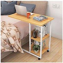 Mobile Lap Table Furniture Pressboard Steel Frame