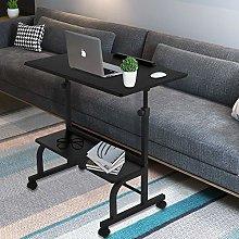 Mobile Laptop Stand Desk Adjustable Computer Desk