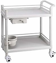 Mobile Medical Equipment Cart with Wheel, ABS