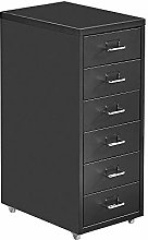 Mobile Tall Office File Cabinet for Document Unit