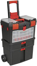 Mobile Tool Chest with Tote Tray & Removable