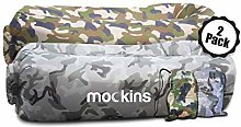 Mockins 2 Pack Inflatable Lounger Air Sofa Perfect
