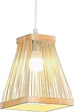 MODEBHD Minimalist Bamboo Hanging Lamp,Bamboo