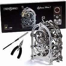 Model Clock Kit - DIY Model Of A Vintage Clock -
