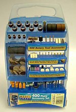 Modelcraft 400 Piece Rotary Tool Accessory Set in
