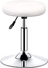 Moden Bar Stool, Round PU Leather Stool with
