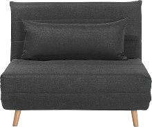 Modern 1 Seater Fabric Sofa Bed Single Living Room