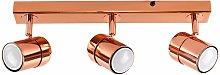 Modern 3 Way Straight Bar Adjustable Spotlight