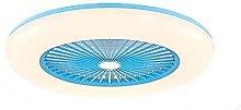 Modern 55Cm Fan Ceiling Light Remote Control