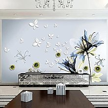 Modern Abstract Wallpaper 3D Stereo Butterfly