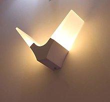 Modern Acrylic Creativity V Shape Bedroom Wall