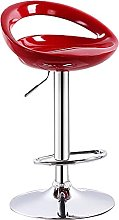 Modern Adjustable Seat Bar Stools with Footrest,