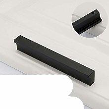 Modern Aluminum Black Straight Kitchen Cabinet