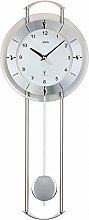 Modern AMS wireless pendulum wall clock 5254 with