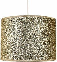 Modern and Designer Bright Gold Glitter Fabric