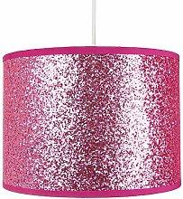 Modern and Designer Bright Pink Glitter Fabric