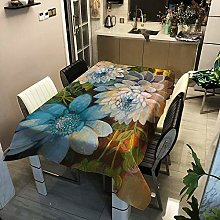 Modern And Simple Flower Series Printed Tablecloth