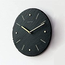 Modern And Simple Natural Stone Wall Clock,