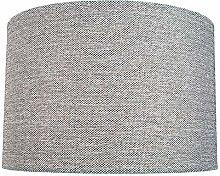 Modern and Sleek 30cm Light Charcoal Grey Linen