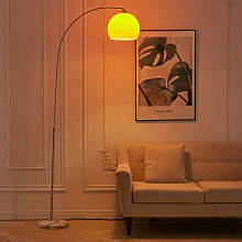 Modern Arched Floor Lamp Tall Curved Reading Light