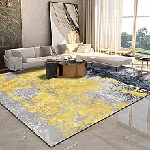 Modern Area Rug Designer Carpet Abstract blue