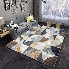 Modern Area Rug Designer Carpet Blue brown modern