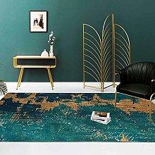 Modern Area Rug Designer Carpet Dark green modern