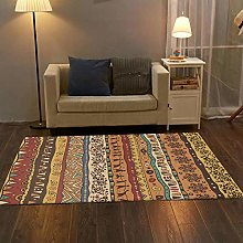 Modern Area Rug Designer Carpet Ethnic style red